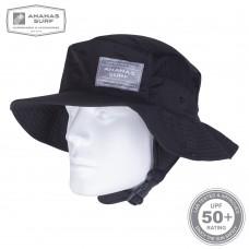 Water Headwear | SURF HAT BLACK | Ananas