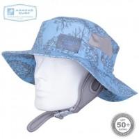 Surfing Headwear | SURF HAT FLUORESCENT BLUE UPF-50 | Ananas