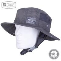 Surfing Headwear | SURF HAT GREY UPF-50  | Ananas
