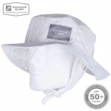 Water Headwear | SURF HAT WHITE PINE-APPLE | Ananas