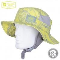 Surfing Headwear | SURF HAT FLUORESCENT YELLOW UPF-50 | Ananas