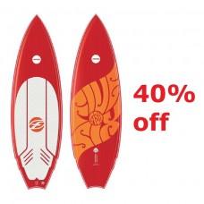 Surboard: 2017 Fish 5'6 + Fins (-40%)