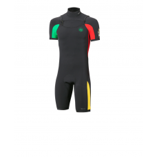 Wetsuit Men - 2016 Manera Line up Shorty - 2/2mm Shorty - Rasta (-20%)