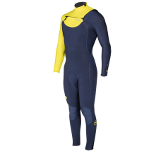 Wetsuit Men - 2018 Manera X10D - 5/4/3mm Fullsuit - Yellow