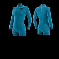 Wetsuit Women : 3,2 SEAFARER Hybrid:Manera 2021