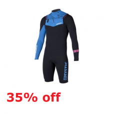 Wetsuit Men - 2014 Mystic Crossfire ND - 3/2mm Longarm Shorty (35% off)