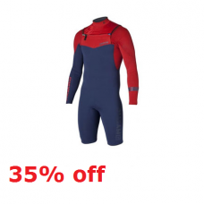 Wetsuit Men - 2014 Mystic Crossfire YZ - 3/2mm Longarm Shorty (35% off)