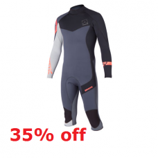 Wetsuit Men - 2015 Mystic Crosssfire - 4/3mm Short Leg (-35%)