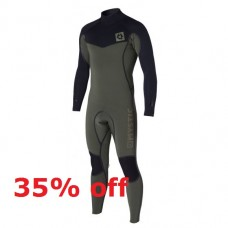 Wetsuit Men - 2015 Mystic Voltage - 4/3mm Fullsuit - Army (-35%)