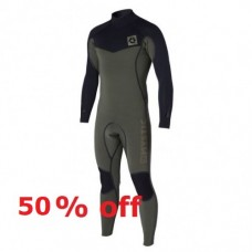 Wetsuit Men - 2015 Mystic Voltage - 4/3mm Fullsuit - Army (-50%)