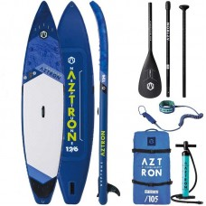 Inflatable SUP - Aztron NEPTUNE12'6'' (Touring) Double Chamber + Double Layer Fusion Tech