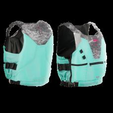 Life Jacket | N-SV NYLON SAFETY VEST  Aqua/Stone   | Aztron
